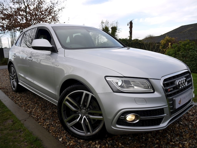 Audi Q5 SQ5 3.0 BiTdi Quattro (TECH Pack High+HDD Sat Nav+B&O Audio+DAB+Power Tailgate & Mirrors+21