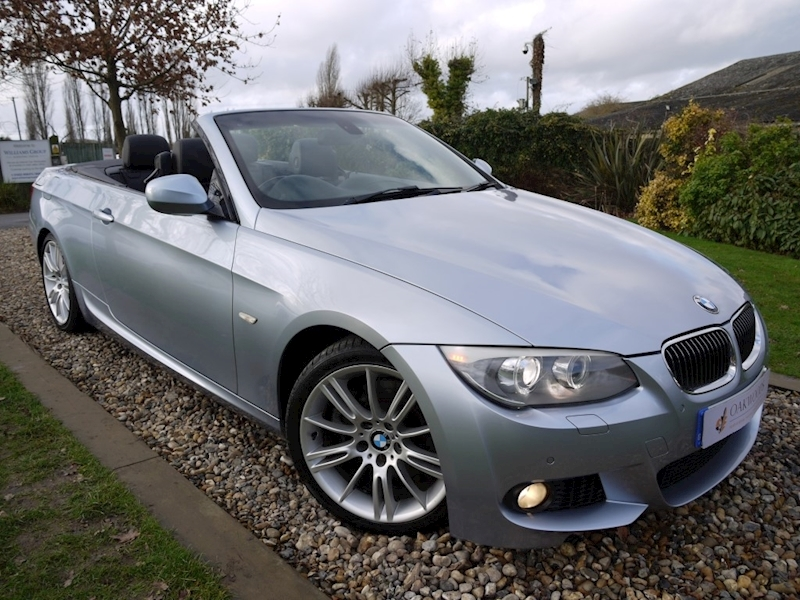 BMW 3 Series 325D M Sport (BMW Pro Sat Nav+Voice+LED Lights+PDC+Electric, HEATED Sport Seats+Power Mirrors)