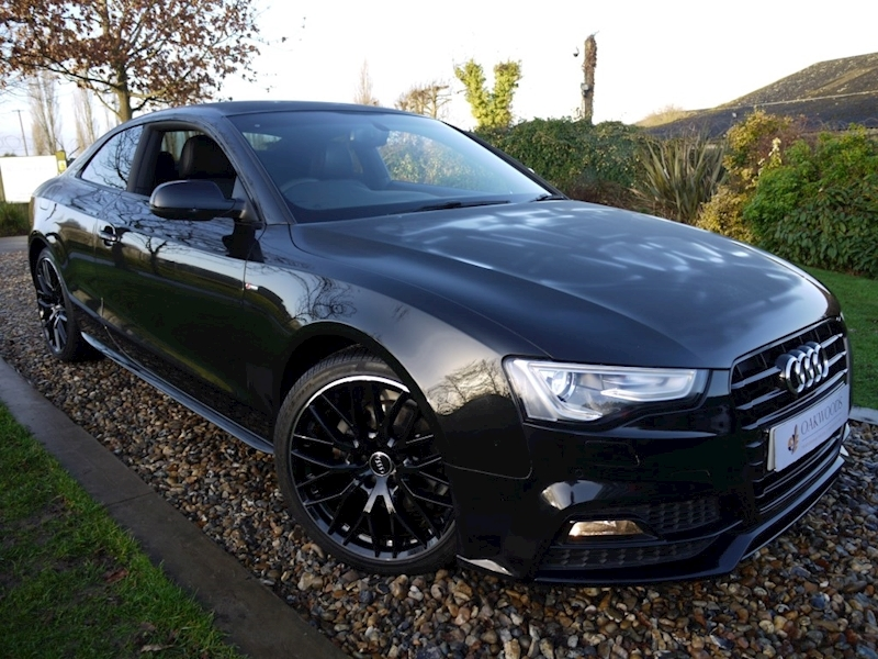 Audi A5 2.0 TFSi S Line Black Edition Plus (Rear CAMERA+Parking Plus+Heated Seats+Power Mirrors+Audi Hist)