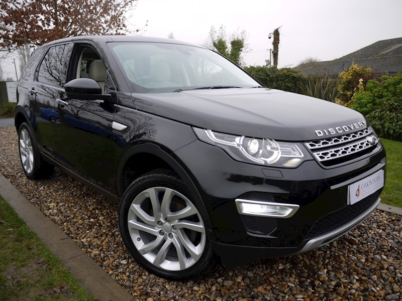 Land Rover Discovery Sport TD4 HSE Luxury (IVORY Leather+1 Lady Owner+Full Land Rover History+Meridan Audio+Pan Roofs)