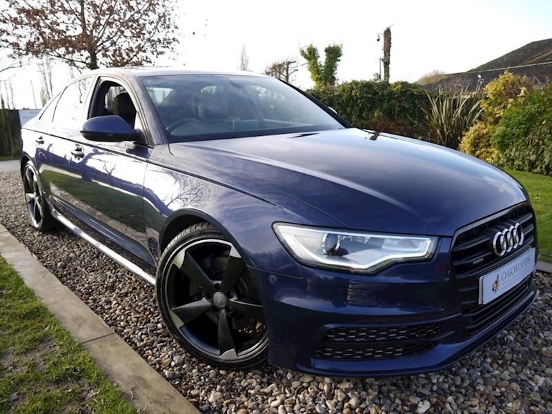 Audi A6 3.0 TDi Quattro S Line Black Edition (DAB+HDD Sat Nav+KEYLESS+BOSE+Cruise+Electric HEATED Seats)