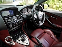 BMW 6 Series M6 5.0 V10 SMG II (BMW Exclusive Paint+Full Merino Leather Package+11 Stamps+5,000GBP Just Spent) - Thumb 27