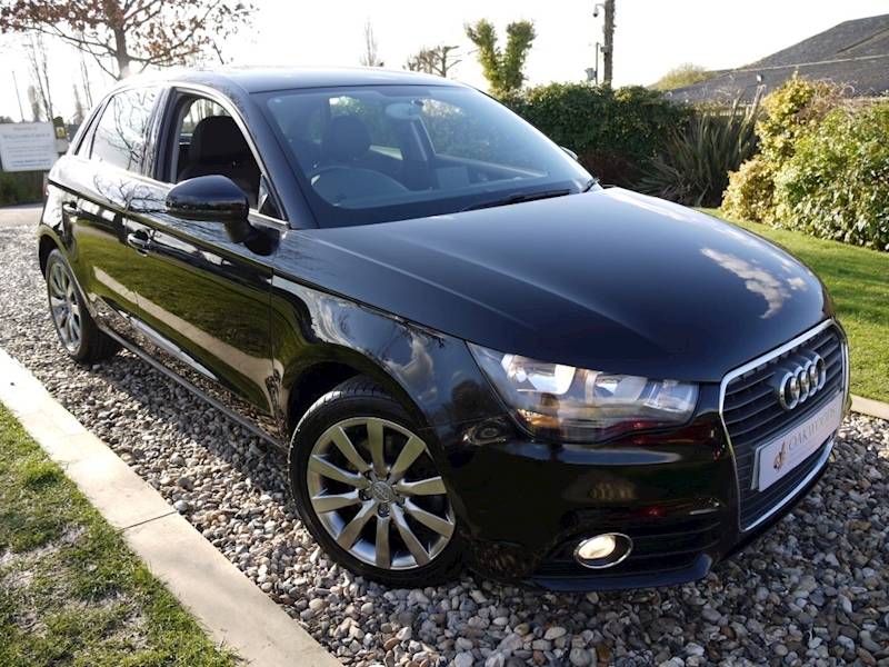 Audi A1 Sportback 1.4 TFSi Sport S Tronic Auto (Factory SAT NAV+HEATED Seats+Shadow Chrome Alloys)