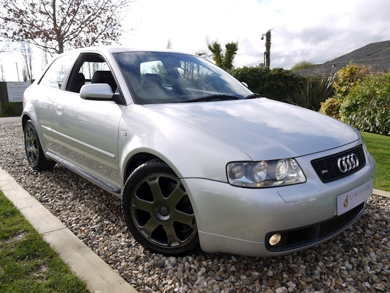 Audi S3 1.8 Hatchback 3dr Quattro 210 BHP (Unmolested Example+Nappa Leather+12 Services+Outstanding Example)