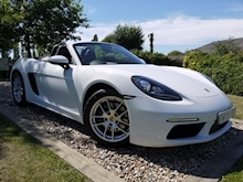 Porsche 718 Boxster 2.0T Convertible 2dr Petrol PDK (s/s) (300 ps) (1 Local Private Owner+PCM+Power Mirrors+PDC) - Thumb 0