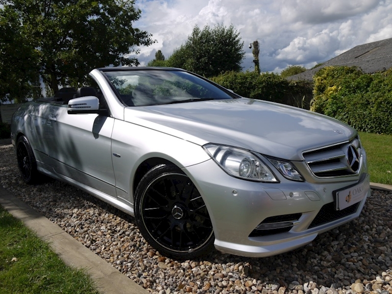 Mercedes-Benz E Class E250 Cdi Blueefficiency Sport (Full Leather+AIRSCARF+SAT NAV+Heated Seats+Cruise+Low Mileage)