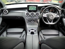 Mercedes-Benz C Class AMG Line (Sat Nav+Rear CAMERA+DAB+Heated Seats+Power Mirrors & Tailgate) - Thumb 3