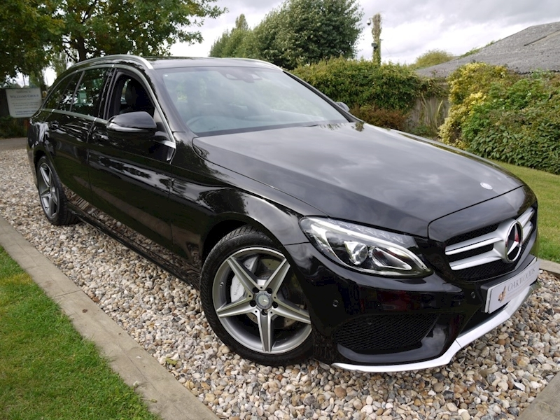 Mercedes-Benz C Class C250 AMG Line (Sat Nav+CAMERA+DAB+HEATED Seats+XENONS+30TAX+60MPG)