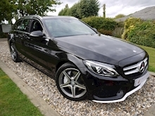 Mercedes-Benz C Class AMG Line (Sat Nav+Rear CAMERA+DAB+Heated Seats+Power Mirrors & Tailgate) - Thumb 0