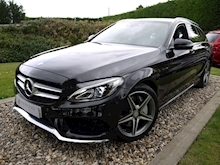 Mercedes-Benz C Class AMG Line (Sat Nav+Rear CAMERA+DAB+Heated Seats+Power Mirrors & Tailgate) - Thumb 21