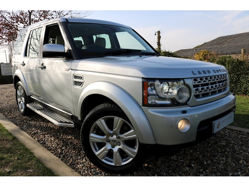 Land Rover Discovery 4 3.0 SDV6 HSE Auto (IVORY Leather+7 Seater+Side Steps+Triple Sunroofs+Newly Serviced)