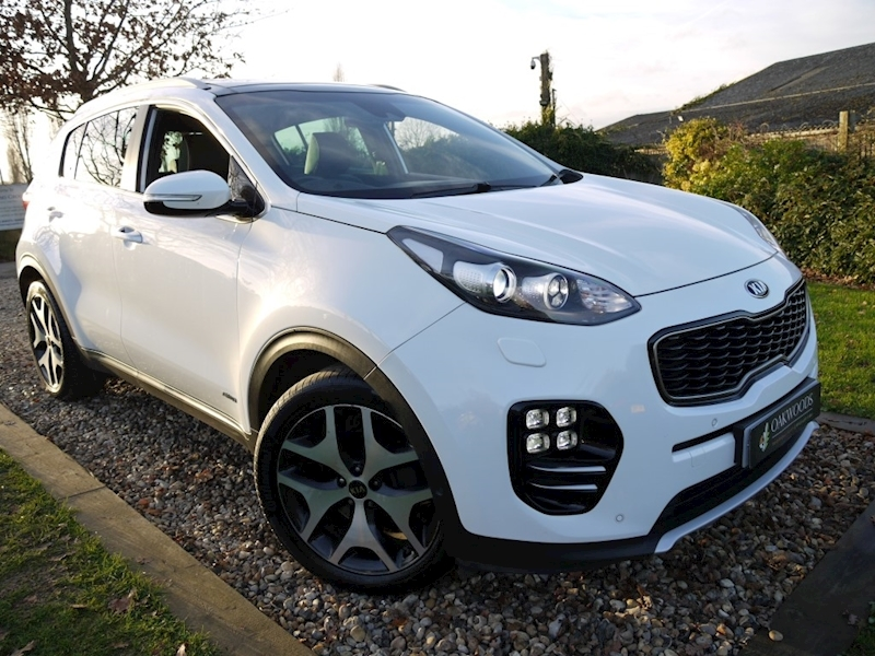 Kia Sportage GT-Line S Auto 4WD (Two Tone Leather+Pan Roof+Camera Pack+1 Private Owner)