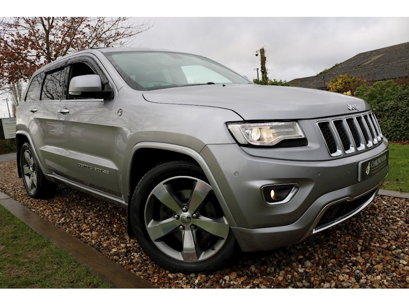 Jeep Grand Cherokee Grand Cherokee 3.0i V6 CRD Overland (Factory REAR DVD+PAN Roof+SAT NAV+DAB+Rear Camera+Tow Pack)