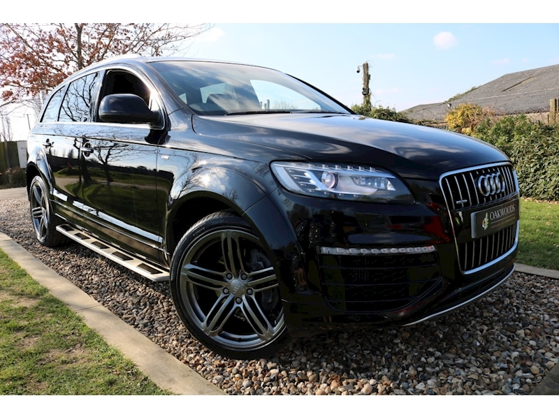 Audi Q7 TDI S line Sport Edition (HDD Sat Nav+Double Glazing+Air Suspension+Sports Styling Kit+REAR Camera)