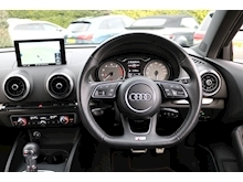 Audi S3 2.0 TFSI Black Edition 310ps (Bang and Olusten+Sat Nav+Black Styling Pack+DAB+Cruise+Audi History) - Thumb 3