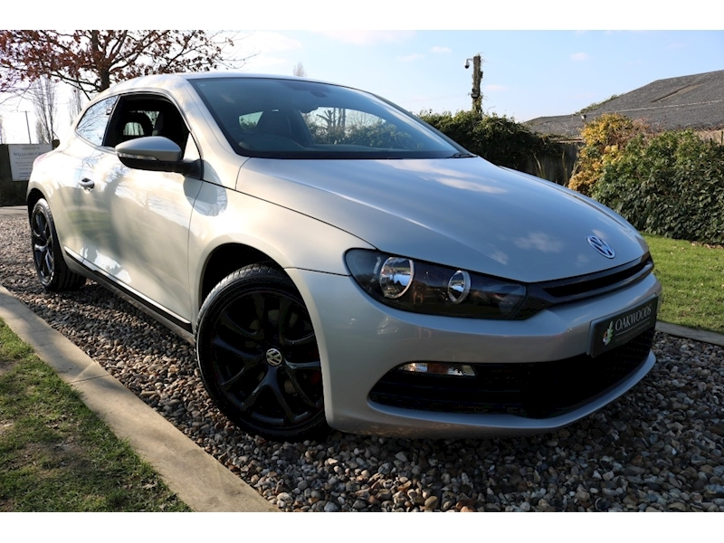 Volkswagen Scirocco 1.4 TSI (Black VIENNA Leather+PRIVACY+HEATED Seats+Rear PDC+VW Bluetooth+Music Streaming+ACChassis)