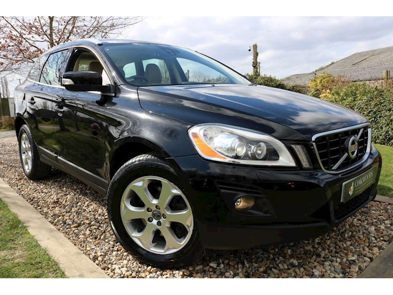 Volvo XC60 2.4 D5 SE Lux AWD Auto (Cream LEATHER+11 Volvo Stamps+Electric, HEATED Seats+BLUETOOTH+Tow Pack)