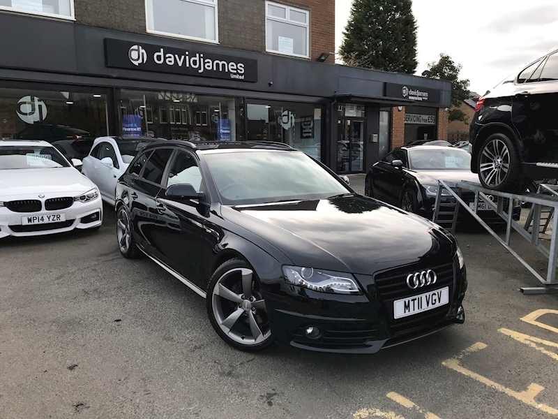 Audi A4 Avant Tdi Black Edition