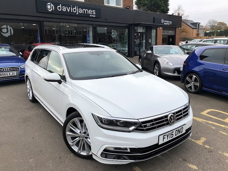 Volkswagen Passat R Line Tdi Bluemotion Technology