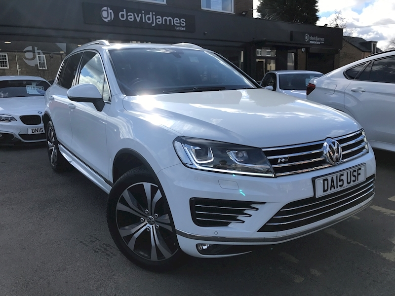 Volkswagen Touareg V6 R-Line Tdi Bluemotion Technology