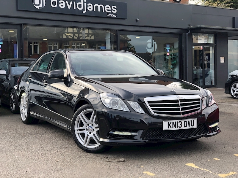 Mercedes-Benz E Class E220 Cdi Blueefficiency S/S Sport