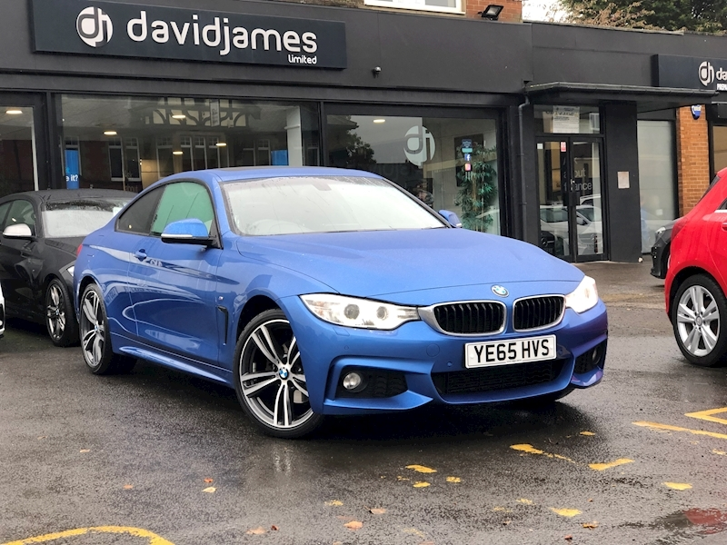 Bmw 4 Series 420D Xdrive M Sport