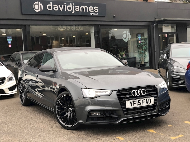 Audi A5 Sportback Tdi S Line Black Edition Plus