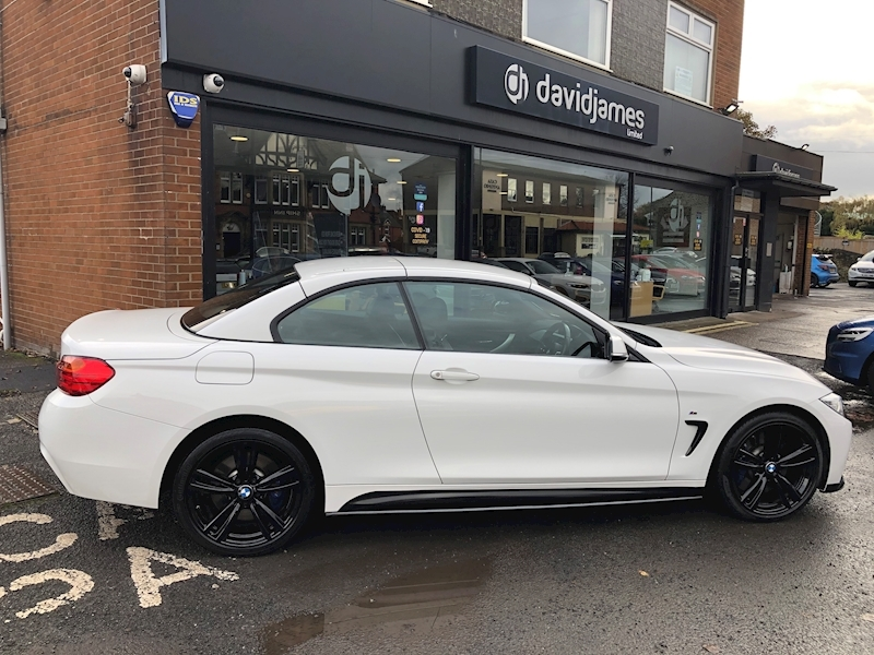 BMW 4 Series 435d xDrive M Sport Convertible