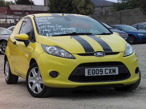 Ford Fiesta Trend Tdci Car Derived Van 1.4 Manual Diesel