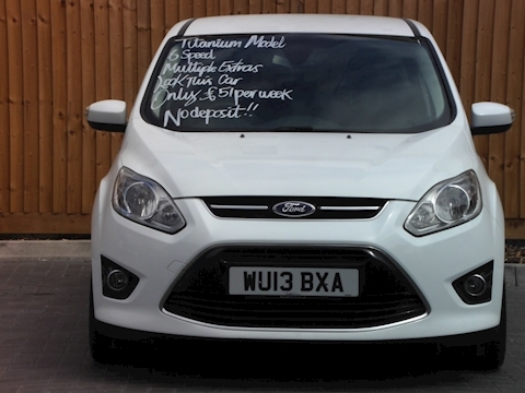 Ford C-Max Titanium Mpv 1.0 Manual Petrol