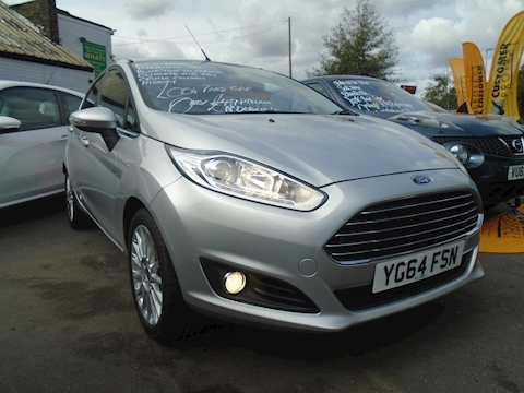 Ford Fiesta Titanium Hatchback 1.0 Manual Petrol