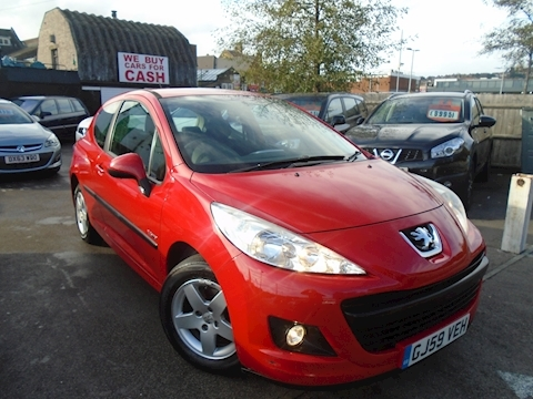 Peugeot 207 Verve Hatchback 1.4 Manual Petrol