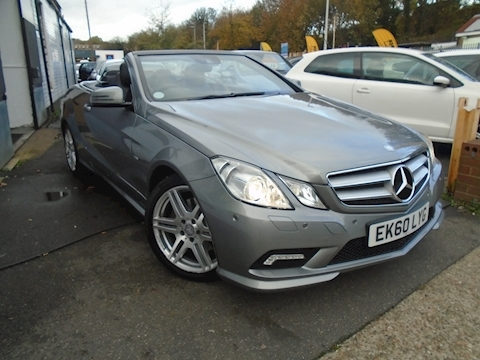 Mercedes E Class E350 Cdi Blueefficiency Sport Convertible 3.0 Automatic Diesel