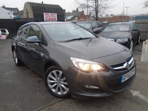 Vauxhall Astra Astra Active Hatchback 1.4 Manual Petrol