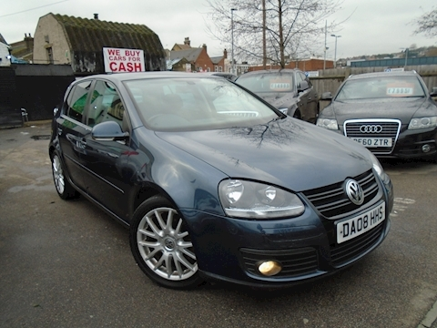 Volkswagen Golf Golf Gt Tdi 140 Hatchback 2.0 Manual Diesel
