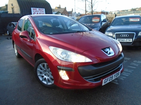 Peugeot 308 Verve Hatchback 1.6 Manual Petrol