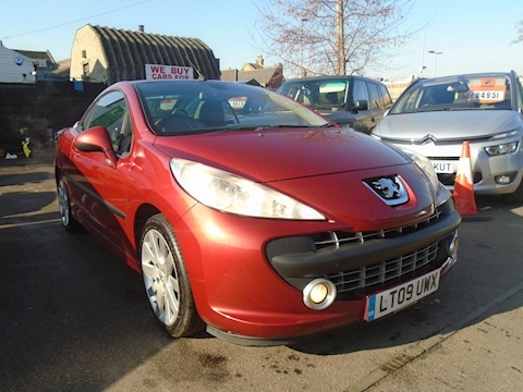 Peugeot 207 Gt Hdi Coupe Cabriolet Convertible 1.6 Manual Diesel