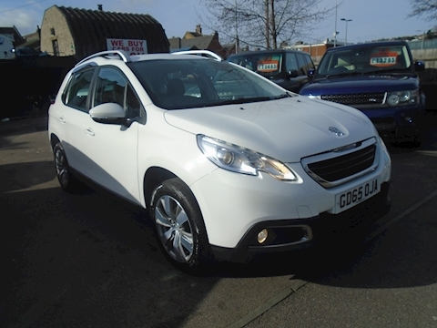 Peugeot 2008 Blue Hdi S/S Active Hatchback 1.6 Manual Diesel