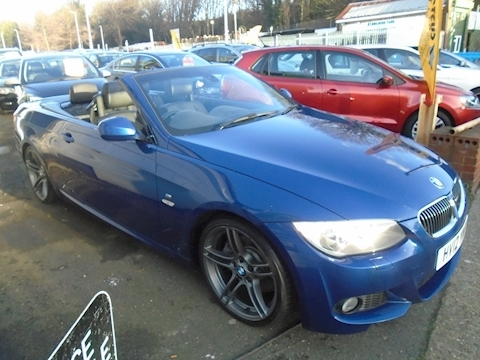 Bmw 3 Series 325D M Sport Convertible 3.0 Automatic Diesel