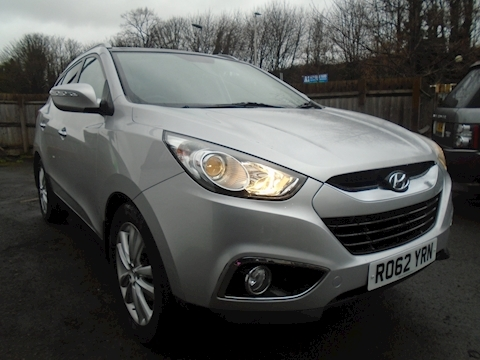 Hyundai Ix35 Crdi Premium Estate 2.0 Manual Diesel