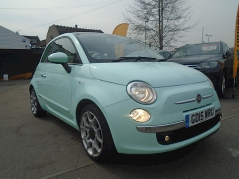 Fiat 500 Twinair Lounge Hatchback 0.9 Manual Petrol