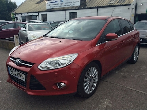 Ford Focus Titanium X Hatchback 1.0 Manual Petrol