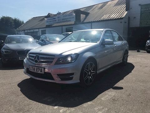 Mercedes-Benz C Class C220 Cdi Blueefficiency Amg Sport Plus Saloon 2.1 Manual Diesel