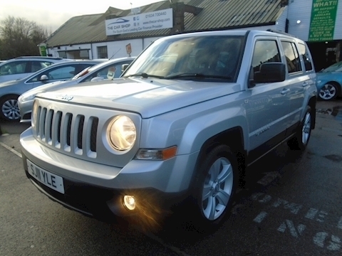 Jeep Patriot Crd Sport Plus Estate 2.1 Manual Diesel