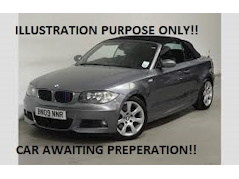 Bmw Bmw 1 Series 120d M Sport Convertible 2.0 Manual Diesel