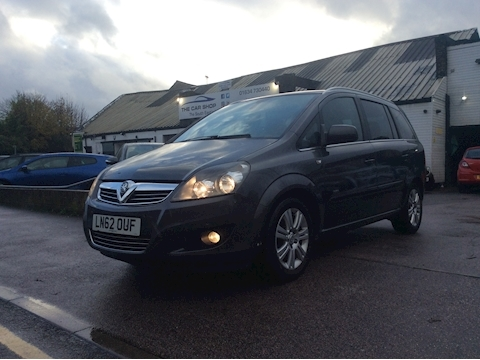 Vauxhall Zafira Design Mpv 1.6 Manual Petrol
