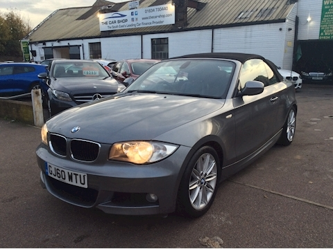 Bmw 1 Series 120I M Sport Convertible 2.0 Manual Petrol