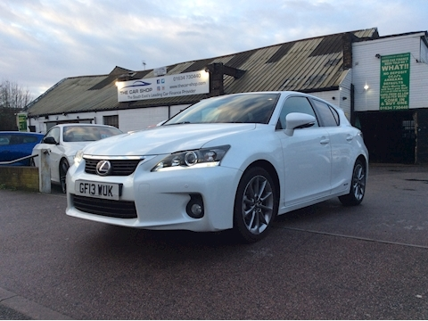 Lexus Ct 200H Advance Hatchback 1.8 Cvt Petrol/Electric