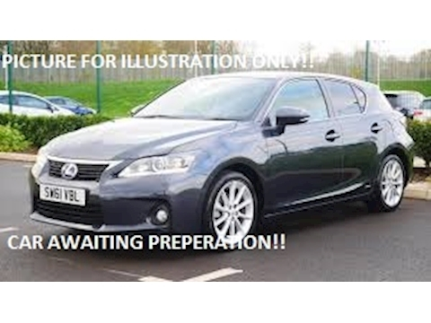 Lexus Ct 200H Se-L Hatchback 1.8 Cvt Petrol/Electric