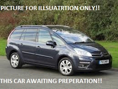 Citroen C4 Hdi Platinum Grand Picasso Mpv 1.6 Manual Diesel